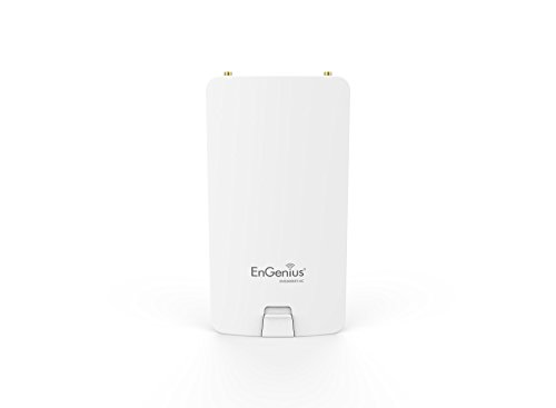 EnGenius ENS500EXT-AC - Punto de Acceso 5 GHz inalámbrico, Color Blanco