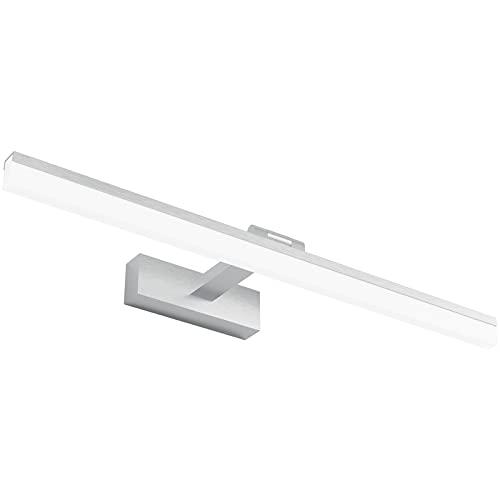 Klighten Lámpara de Espejo Baño 60CM luz Baño Lámpara de Pared Espejo Iluminación para Maquillaje 18W Blanco Frío 6000K 910LM No-regulable