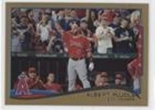 Albert Pujols; Checklist #1552/2,014 (Baseball Card) 2014 Topps Update Series - [Base] - Gold #US-1