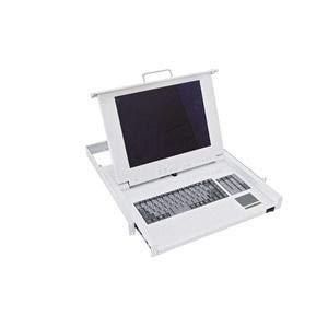 Schneider NSYAUSK1UF Actassi, telescopische sleuf voor toetsenbord/muis/beeldscherm, AZERTY