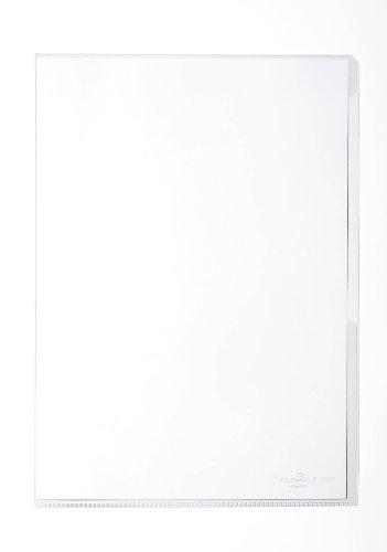 Durable 231919 Sichthülle (DIN A4 hoch, Hartfolie 150 µ) Karton à 50 Stück transparent/glasklar