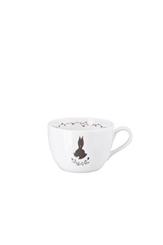 Hutschenreuther Hase 0, 22 l Cappuccino-Obertasse, Porzellan, Weiß, 10 x 10 x 8 cm