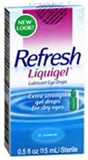 Refresh Refresh Liquigel Lubricant Eye Drops, 15 ml (Pack of 3)