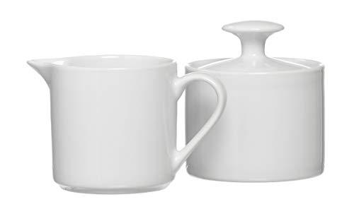 Ritzenhoff & Breker Zuckerdose und Milchkännchen Bianco, 2-teilig