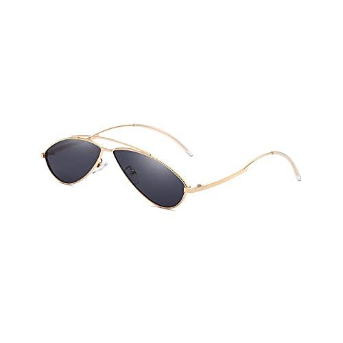 FEINENGSHUAItaiyj Gafas de Sol Hombre Gafas de Sol para Hombres Espejo polarizado de Metal Todos los Gafas de Sol polarizadas del Marco