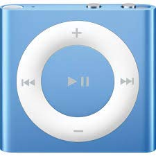 MPlayer iPod Shuffle 2GB Blue Packaged in White Box with Generic Accessories