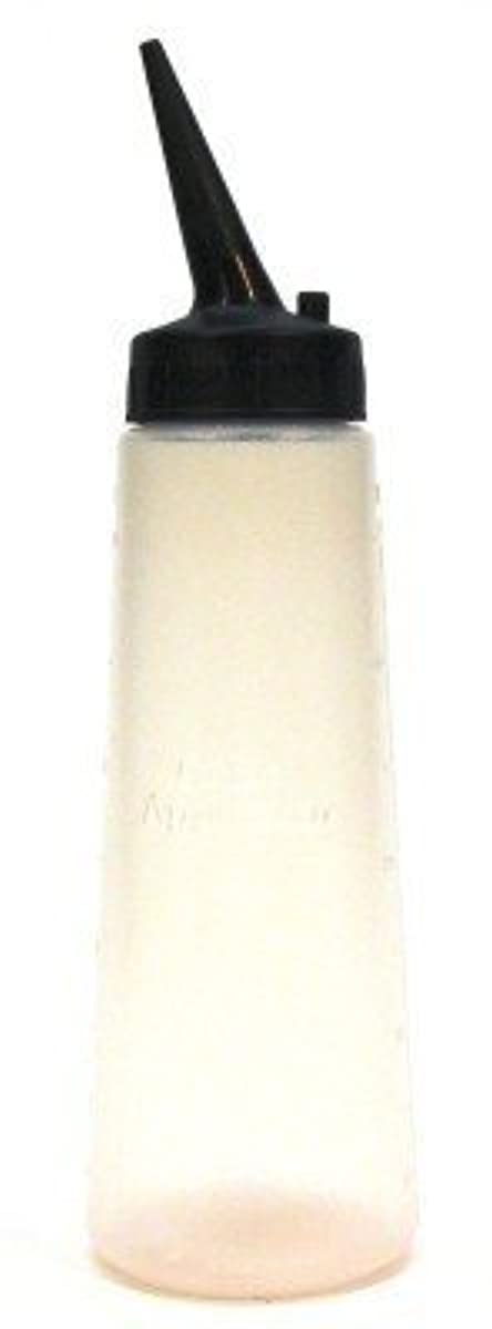 Slant Tip Applicator Bottle 8 oz., hair color, hair applicator, hair chemicals, hair dye, apply application fast, helps with applying hair color, easy to use, salon, stylist, plastic