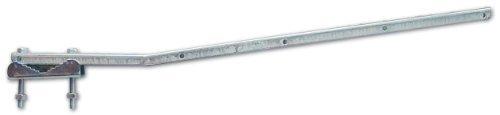 Bracci Stendibiancheria Per Balcone Fissi in acciaio zincato presso-piegato 60cm