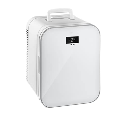 N\B 20 litros Mini refrigerador, refrigerador portátil, Almacenamiento en frío y refrigerador de Doble propósito de conservación de Calor, diseño de Ruido Cero, para hogar y al Aire Libre