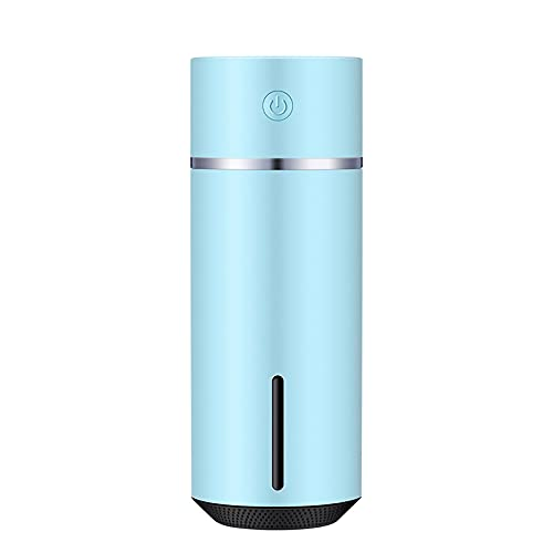 Botitu Umidificatore di foschia Fredda Camera da Letto, purificatore Auto Ricaricabile USB, accensione Automatica sicura e silenziosa con Luce Notturna,Blu