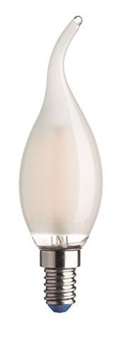 Kai 50007 LED lamp Flame Colpo Vento Stick E14, 4 W, helder, 11 x 3,6 x 15,8 cm
