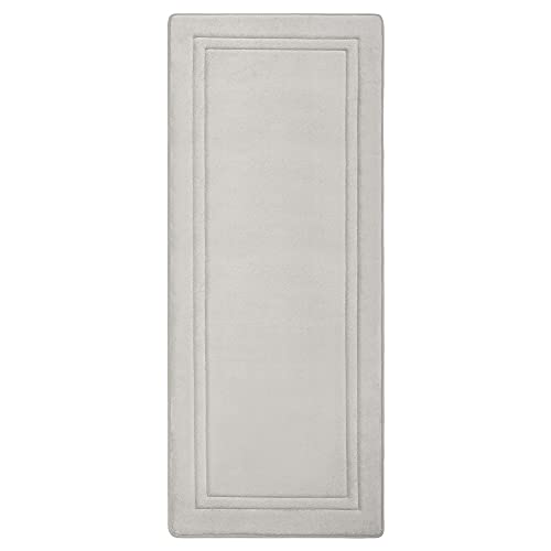 MICRODRY Quick Drying Memory Foam Framed Bath Mat Runner with GripTex...