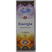 Andrea Collection - Incienso Energia, 6 paquetes de 20 varillas c/u