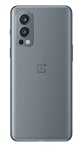OnePlus Nord 2 5G 12 GB RAM 256 GB SIM-freies Smartphone mit Dreifachkamera und 65W Warp Charge - 2 Jahre Garantie - Grey Sierra - 2