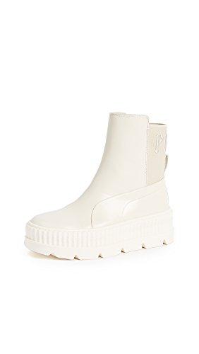 PUMA Women s Fenty x Chelsea Sneaker Boots  Vanilla  9 M US