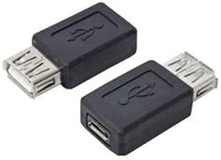 (まとめ)変換名人 変換プラグ USB A(メス)→microUSB(メス) USBAB-MCB【×20セット】