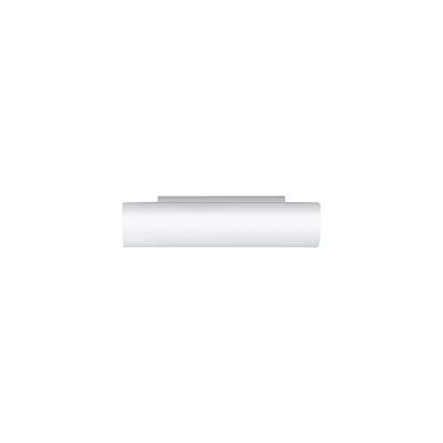 Eglo 83407 Zola 1 x 40 W en verre en acier Lampe murale Blanc