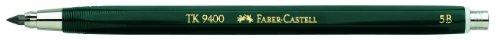 Faber-Castell 139405 - Fallminenstift TK 9400, Minenstärke: 3,15 mm, Härtegrad: 5B, Schaftfarbe: grün