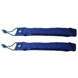 HQ Kites and Designs 12050012 Gepolsterte Gurte, Blau, 1 Paar