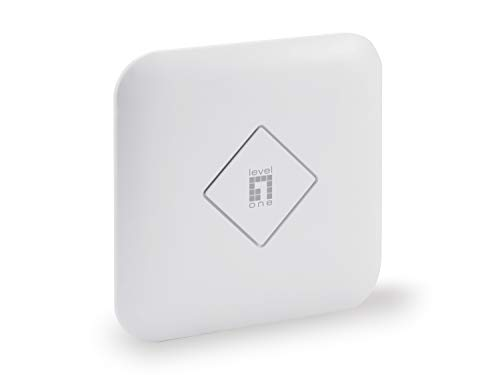 LevelOne WAP-8122 WLAN-Decken/Wand-Access-Point, 1200Mbps weiß