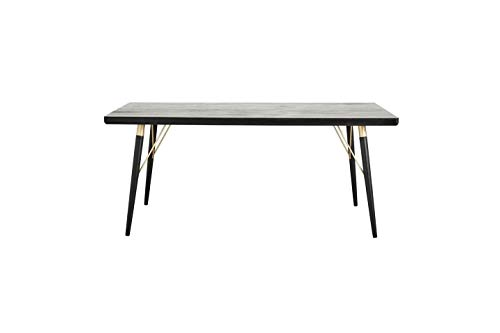 Nordal - Mesa de comedor de madera Pulligny | Una mesa de comedor elegante y espaciosa