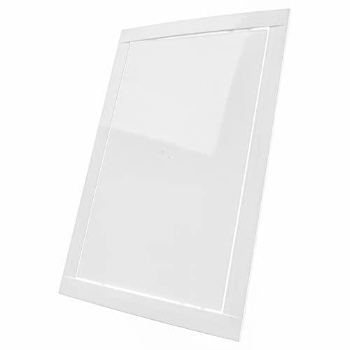 - 8' x 12' White Plastic Access Panel. Service Shaft Door Panel. Plumbing. Electricity. Heating. Alarm Wall Access Panel for Drywall. Bathroom Services Access Hole Cover.