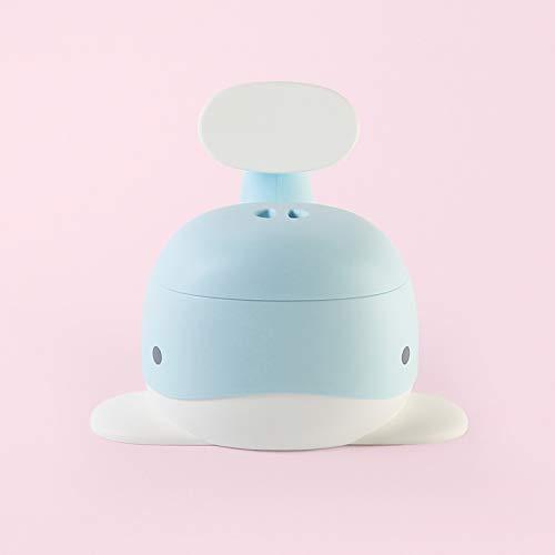 JTKDL Vasino per Bambini, WC Portatile, Toilette Pipi con Seduta Ergonomica, Antiscivolo, Pratico, Design Balena,Blue