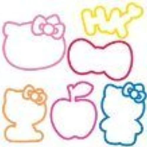 Silly Bandz Hello Kitty Bandz by rubber bands
