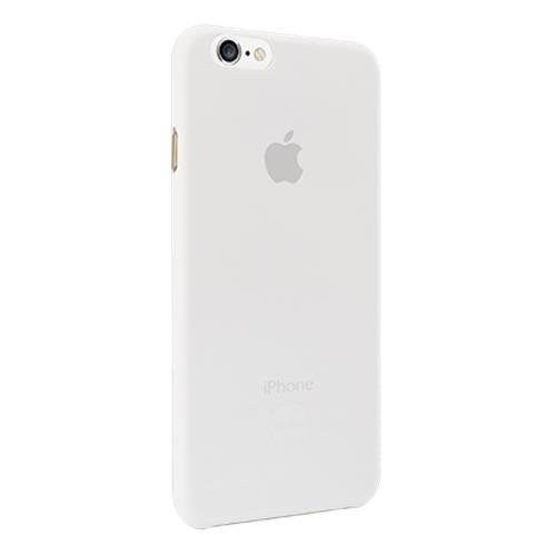 Ozaki OC555TR 0.3 Jelly ultra dünne transparente Schutzhülle inkl. Displayschutzfolie für Apple iPhone 6 / 6S transparent