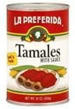 La Preferida Tamales Beef & Pork, 15-Ounce (Pack of 12)