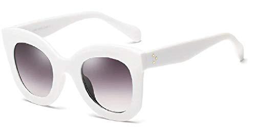 EVRYLON Gafas de sol mujer gato Grandes Mariposa Niña Retro Moda Polarizadas UV400 Vintage