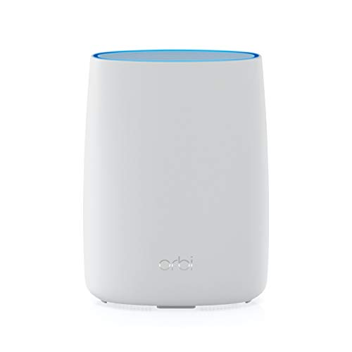 NETGEAR Orbi Tri-Band WiFi Router with 4G LTE Modem Built-in (LBR20) for Primary or Backup Internet | Supports AT&T and T-Mobile | Coverage up to 2,000 sq. ft. | AC2200 WiFi (LBR20-100NAS)