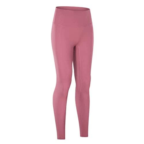 QTJY Pantalones de Yoga Pantalones de Fitness elásticos de Cintura Alta para Mujer Entrenamiento en Cuclillas Leggings de Entrenamiento de Secado rápido al Aire Libre GL