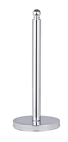 WENKO Toilettenpapier-Ersatzrollenhalter Viterbo - für 3 Toilettenpapierrollen, Edelstahl rostfrei, 14 x 35 x 14 cm, Glänzend