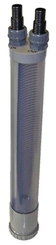 BoFiTec Vorfilter Steinabscheider für Schlammsauger Teichreiniger Teichsauger (DN110-67cm, Transparent)
