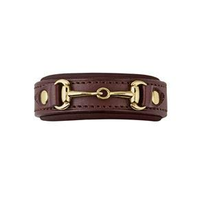 Circuit by Dover Saddlery Little Bit Bracelet - Chocolate/Chocolate