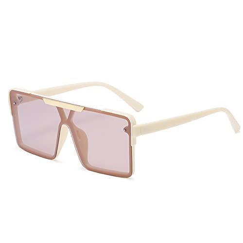 TTWLJJ Gafas de Sol polarizadas Hombre Mujere Retro/Aire Libre Deportes Golf Ciclismo Pesca Senderismo protección UVA Gafas Unisex Golf conducción Gafas Gafas de Sol,Rosado