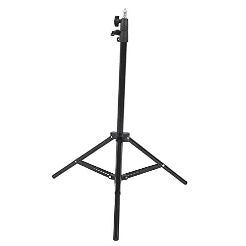 SALALIS Support de trépied vidéo réglable, Support de lumière de Photographie de 51 Pouces Mini trépied d'appareil Photo Accessoires de Prise de Vue pour Appareil Photo Softbox Ring Light pour la