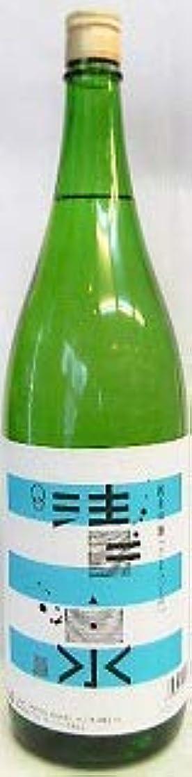 男らしい空振り返る日本酒 清泉 純米吟醸酒 1800ml 夏子の酒、、、【久須美酒造】