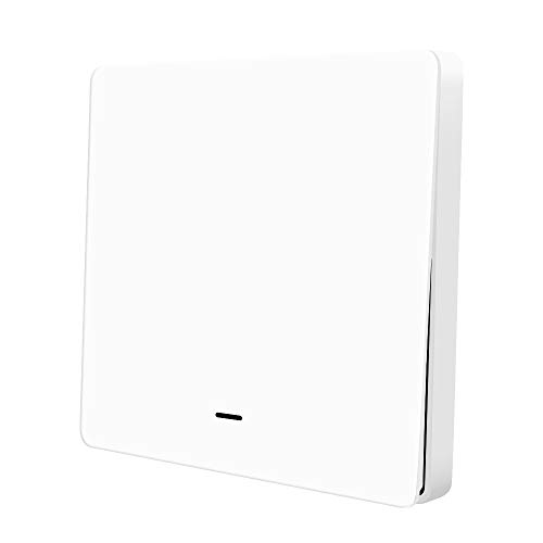 Benexmart Tuya Zigbee Light Switch one Gang Physical Wall Switches Push Interruptor 110v 220v (one Gang)