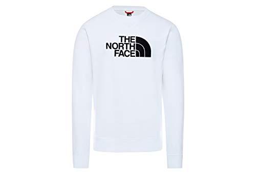The North Face - Felpa Girocollo Uomo TNF Drew Peak Crew - S, Navy