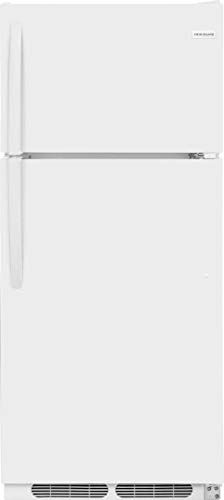 Frigidaire FFHT1621TW Frigidaire FFHT1621T 28 Inch Wide 16.3 Cu. Ft. Capacity Energy Star Rated Top Mount Refrigerator with Store-More Crisper and 5 Full Door Shelves