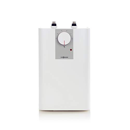 Viessmann ZK03811 Petit chauffe-eau électrique sans pression Vitotherm ES2 avec thermostop et fonction anti-trop 2 kW 5 l Blanc