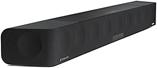 Sennheiser AMBEO Soundbar - Sound Bars for TV with Subwoofer (13 Speakers) - 5.1.4 Channel with Dolby Atmos & DTS:X Soundbars for TV - Home Theater Audio with deep 30Hz Bass