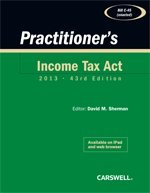 Practitioner's Income Tax Act: 2012