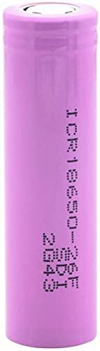 18650 BateríAs Recargables 3,7 v 2600 Mah Batería De Iones De Litio, Parte Superior Plana ICR 18650 26F Batería para MicróFono 6pieces