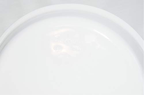 "Vintage Corning Ware All White 9"" Pie Plate P-309"