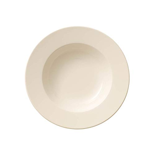 Villeroy & Boch - For Me Assiette creuse, 25 cm, Porcelaine Premium, Blanc