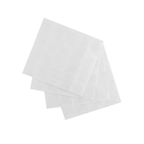 Oblique Unique® 80 Klebepunkte Klebepads Doppelseitig Selbstklebend Rund ø 15 mm Transparent zum Basteln Fotos Ankleben Scrapbooking UVM.