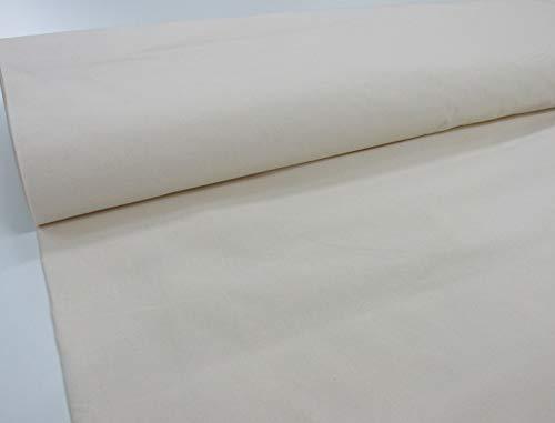 Confección Saymi Metraje 2,45 MTS. Tejido loneta Lienzo, Color Crudo, con Ancho 1,70 MTS.